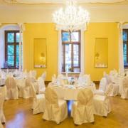 Gelber Saal im Schloss Proschwitz