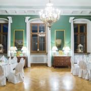 Grüner Saal im Schloss Proschwitz