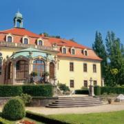 Schlossterrasse Schloss Proschwitz